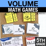 5th - Measuring Volume Math Centers - Math Games