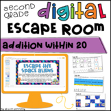 Addition Digital Escape Room | Distance Learning
