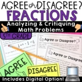 Fractions Grade 5 with Digital