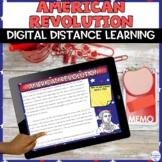 American Revolution Digital Distance Learning Activity