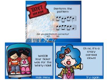 Amusement Park Melodies {A Bundled Set of Melodic Games}