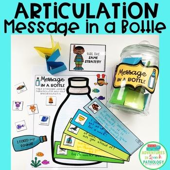 Articulation Message in a Bottle
