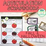 Articulation Scrapbooks: Fall & Halloween
