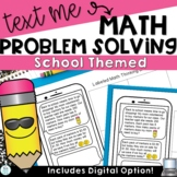 Back to School Math | Multiple Step Word Problems