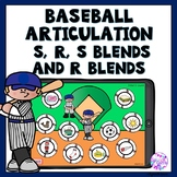 Boom Cards Baseball Articulation Game for R, S, S blends a