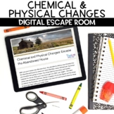 Chemical and Physical Changes Digital Escape Room Activity