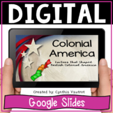 Colonial America Digital Resource for Google Classroom