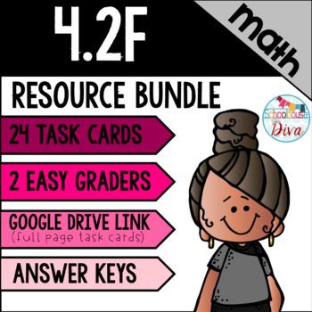 Comparing and Ordering Decimals - 4.2F Math TEKS Resource Bundle