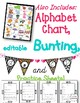 Cursive Posters , Worksheets, & Editable Bunting {Jungle Z