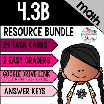 Decomposing Fractions - 4.3B Math TEKS Resource Bundle