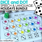 Dice & Dot For Speech & Language: Holiday Bundle