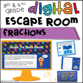 Digital Escape Room: Fractions Distance Learning