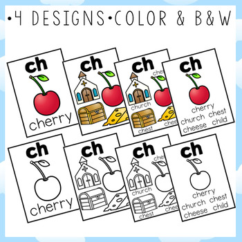 Digraph Posters and Cards BUNDLE