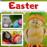 Easter Puzzles and Posters for Classroom Decor