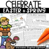 Easter Activities   Spring Reading Comprehension, Writing, Math Activities
