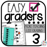 3rd Grade Math TEKS Assessments - Easy Graders