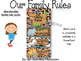 Editable Classroom Rules (Jungle Zoo Safari Theme)