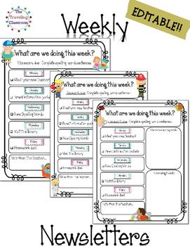 original-2797948-4 Teaching Helper Clroom Newsletter Templates on