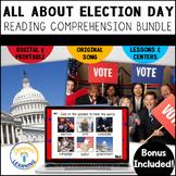 Election Activities Bundle Digital and Printable Boom Card