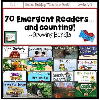 Emergent Readers: All Year GROWING BUNDLE