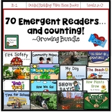 Emergent Readers All Year GROWING BUNDLE