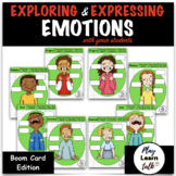 Emotions - Inferencing - Body Language - Boom Cards - Dist