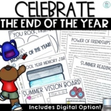 End of Year Activities | Fun Reading, Writing, Math, Reflection