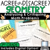 Error Analysis Grade 3 | Geometry