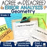 Error Analysis Grade 3   Geometry