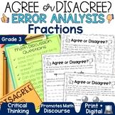 Error Analysis Math   Fractions