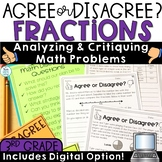 Fractions Math Grade 3 with Digital