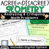Error Analysis Math   Geometry