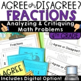 Fraction Word Problems Grade 4
