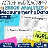 Error Analysis Math Grade 4   Measurement and Data