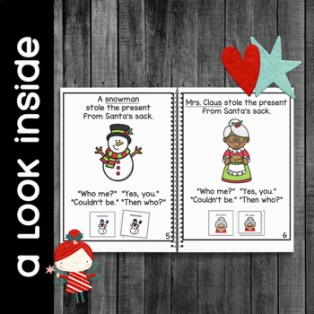 Who Stole the Presents from Santa's Sack?: Adapted Book for Special Education