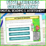 Five Themes of Geography Digital Activity and Assessment