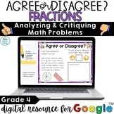 Fractions Digital Activities Grade 4