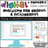 Graphing Digital Task Cards for Google Classroom™ (Distanc