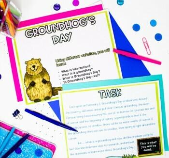 Groundhog's Day Activity