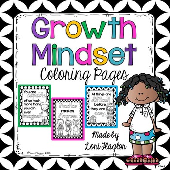 Growth Mindset Coloring Pages by