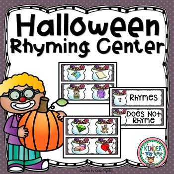 Halloween Rhyming Center