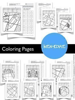 Homophone Coloring Sheets Collection incl. Designs for Entire Year!