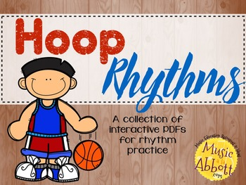 Hoop Rhythms {A Bundled Set of Rhythm Games
