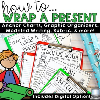 How To Writing Prompt | Holiday Writing Activities