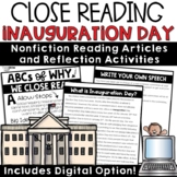 Inauguration Day 2021 Reading Passages with Digital