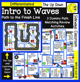 Intro to Waves- Domino Path Matching-Path to Finish Line