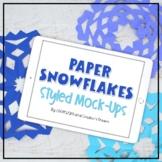 Ipad Mock-up   iPad Mockup   Paper Snowflakes Styled Images