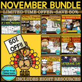 50% off LIMITED TIME PRICE! NOVEMBER BUNDLE - 8 NOVEMBER R