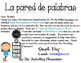 La  pared de palabras - Editable Spanish Word Wall Headers