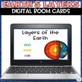 Layers of the Earth Digital Boom Cards For Distance Learning